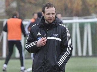 Asistent trenéra jihlavských fotbalistů Michal Šmarda