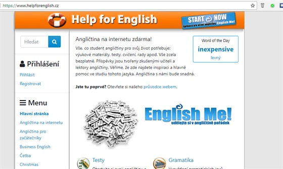 Helpforenglish.cz