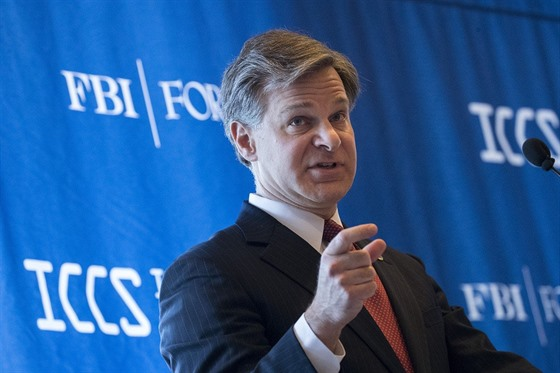 Šéf FBI Christopher Wray