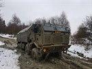 Armádní Tatra T-815 8x8 PRAM pro převoz 120mm minometu 71. mechanizovaného...