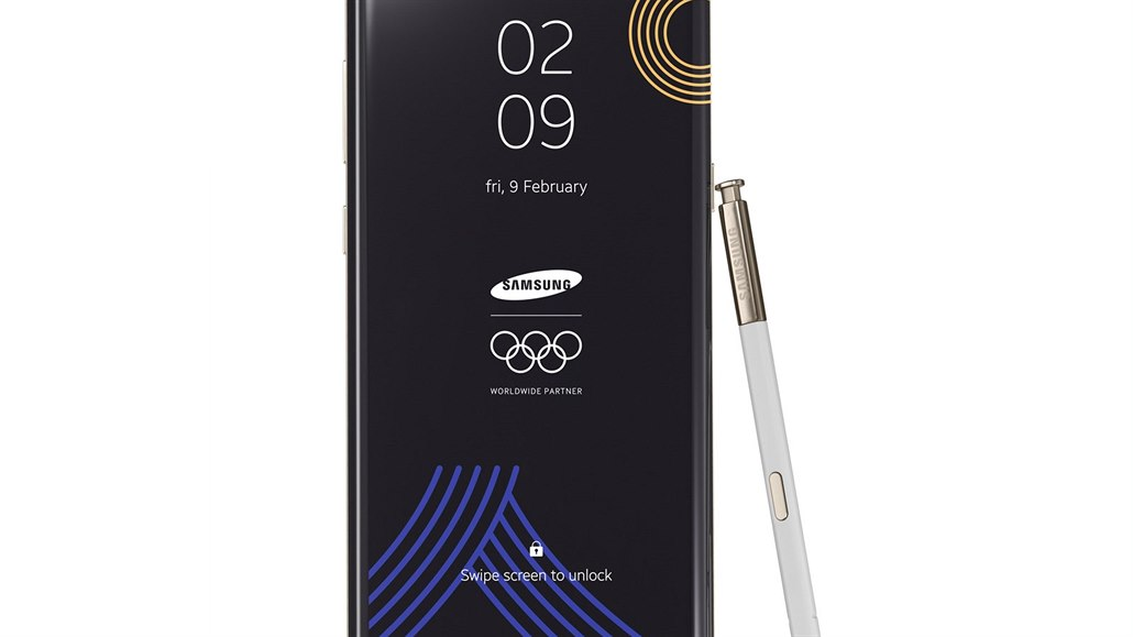 Samsung Galaxy Note 8 The PyeongChang 2018 Olympic Games Limited Edition