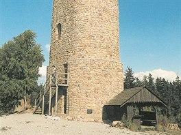 Brdo, Kostelany, výška: 24 metrů. O výstavbu věže se zasloužilo Sdružení pro...