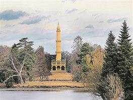 Minaret, Lednice, výška: 62 metrů. Nejstarší dochovanou rozhlednu na našem...