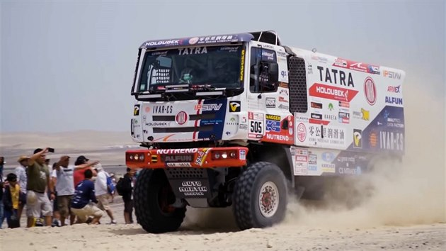 TATRA BUGGYRA RACING on DAKAR 2018 - Stage 6