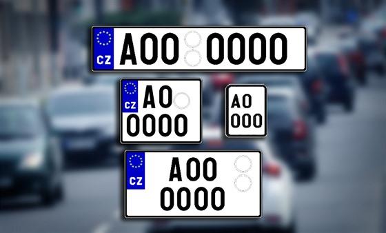4cfc3ad8d Diplomaté i veteráni: přehled registračních značek, které vozí česká ...