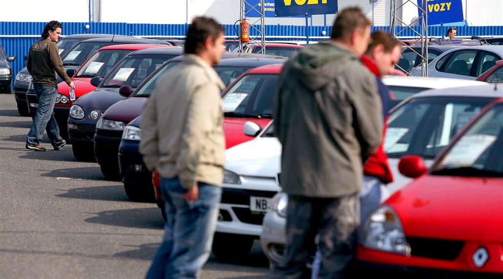 Analýza trhu ojetin: mladá auta čeká zdražení