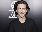 Timothée Chalamet (Los Angeles, 13. ledna 2018)
