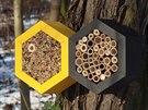 Domeček, který s chutí osídlí třeba včelky samotářky, což jsou ideální...