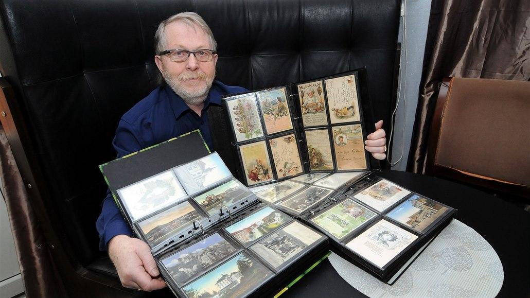 Jiří Galda se může pochlubit bohatou sbírkou pohlednic. Zaměřuje se především...