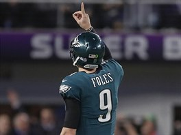 Nick Foles dovedl Philadelphia Eagles k Super Bowlu.