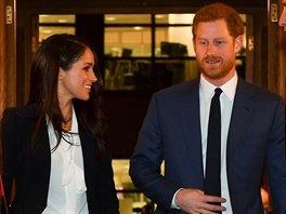 Meghan Markle a princ Harry na Endeavour Fund Awards (Londýn, 1. února 2018)