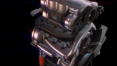 Achates Power Opposed-Piston Engine