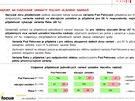Ukázka z výsledků sociologického průzkumu o poloze brněnského nádraží, který...