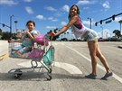 Záběr z filmu The Florida Project