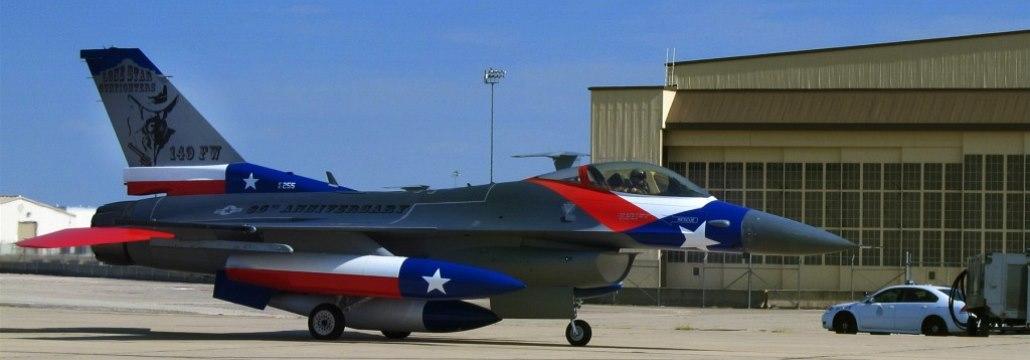Texaská Národní garda plánuje vyslat na cvičení 6 strojů F-16 Fighting Falcon
