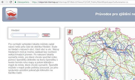 Tipy Na Zajimave Weby Mapa Prozradi Kde Hrozi Nebezpeci Povodni