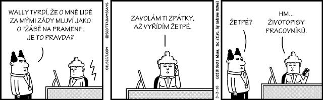 Sobota, 3. března
