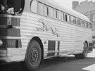 Jezdily rychle a hlavně po celé zemi. Autobusy Greyhound proto armáda využila k...