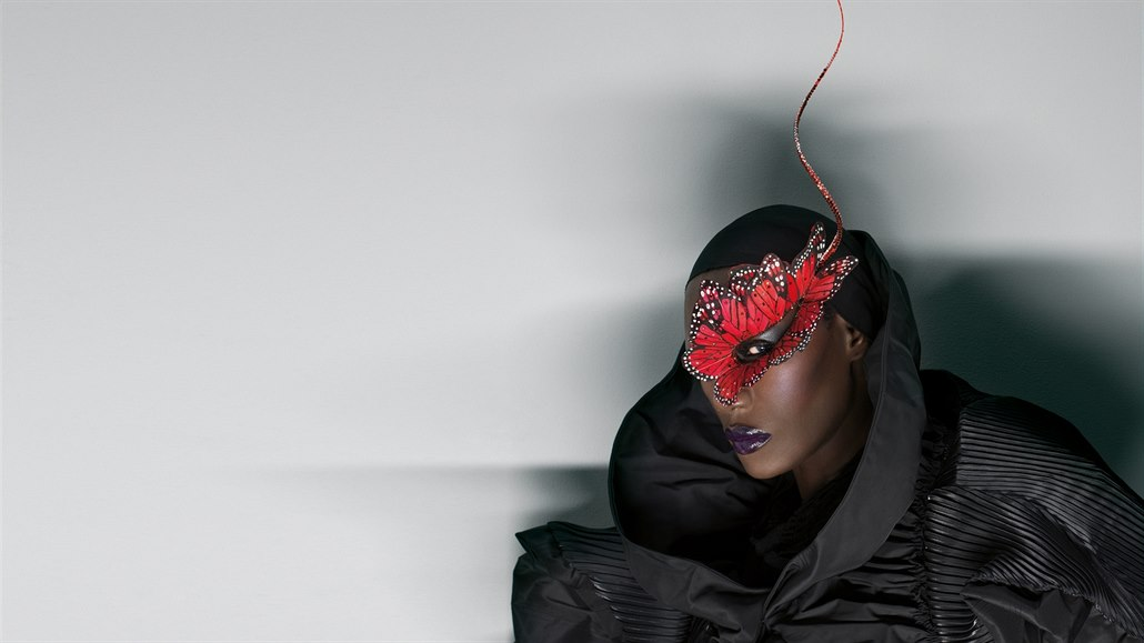 Zpěvačka Grace Jones