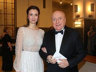 Lucie Gelemová a Felix Slováček na Česko-Slovenském plese 2018
