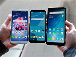 LG Q6, Huawei P Smart, Xiaomi Redmi 5 Plus