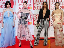 Móda na Brit Awards 2018
