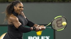 Serena Williamsová na turnaji v Indian Wells