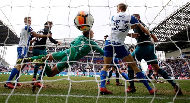 Fotbalový Wigan je v insolvenci, požádal o ochranu před věřiteli