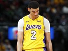 Lonzo Ball v dresu LA Lakers