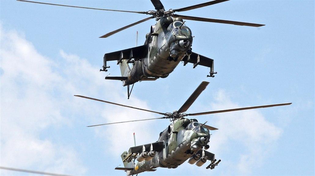 Na Libavé nuceně přistál vrtulník s pěti vojáky, stroje Mi-24 nesmí létat