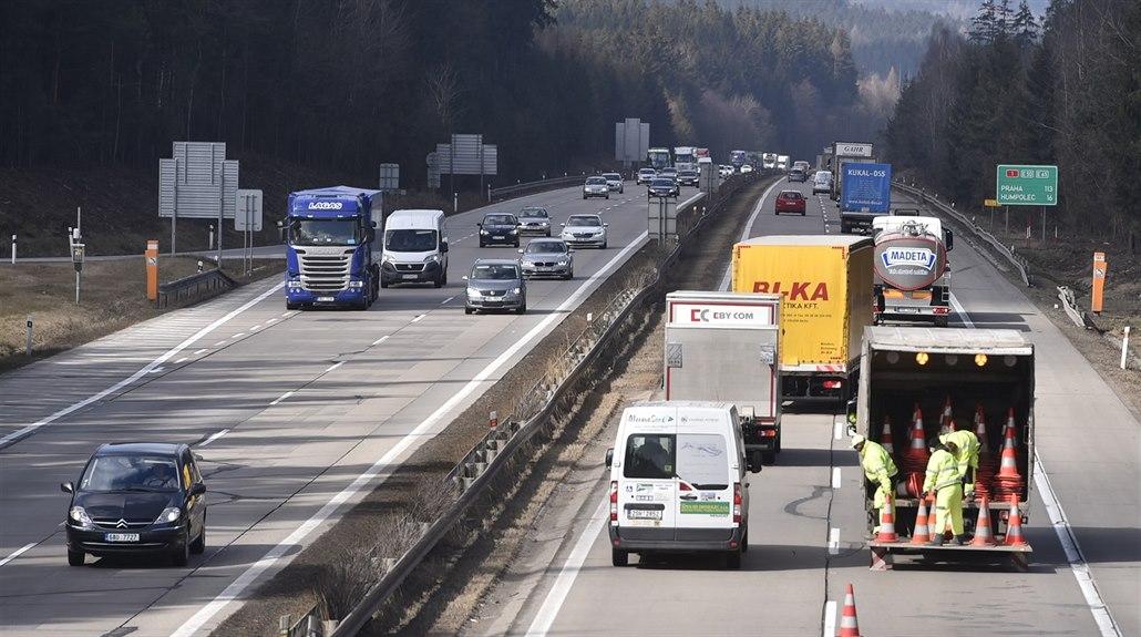 Práce na D1 letos končí. Ředitelství silnic a dálnic dostane navíc miliardy