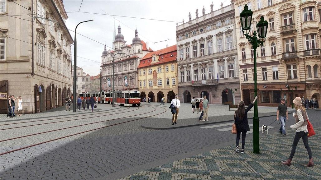 Pražský magistrát chce začít s obnovou Malostranského náměstí do roka