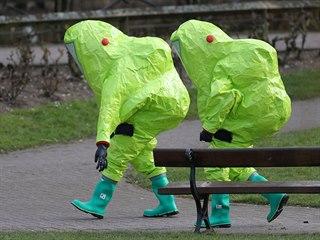 Vyšetřování útoku na Sergeje Skripala a jeho dceru v Salisbury (10. března 2018)