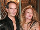 Lloyd Klein a Jocelyn Wildensteinová (Los Angeles, 14. listopadu 2006)