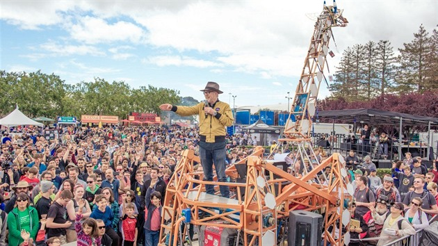 Adam Savage na Maker Faire (San Mateo 2016)