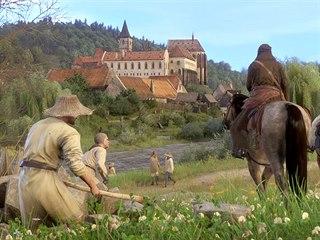Tvůrci hry Kingdom Come: Deliverance vrátili areálu jeho středověkou podobu,...