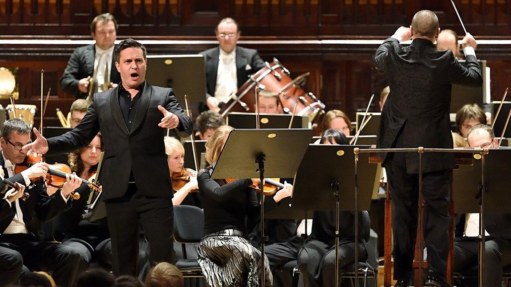 Basbarytonista Erwin Schrott při koncertě v Obecním domě