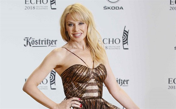 Kylie Minogue na Echo Music Award (Berlín, 12. dubna 2018)