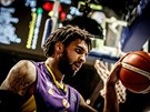 Glen Rice Jr. v dresu Hapoelu Cholon
