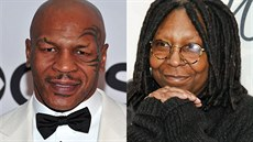 Mike Tyson a Whoopi Goldbergová