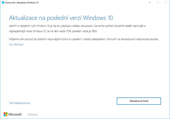 Upgrade Windows
