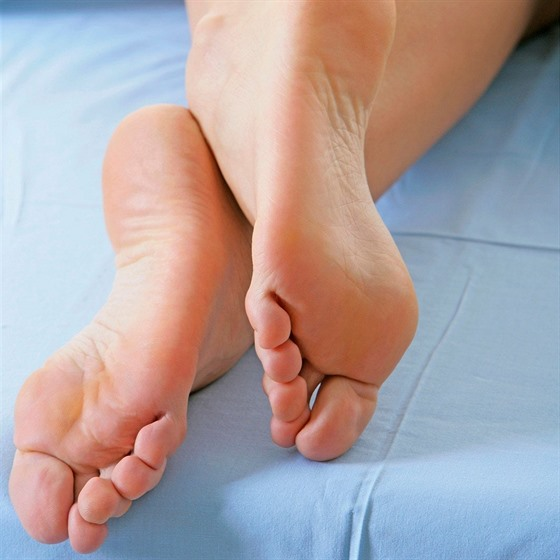 Hezké nohy chodit