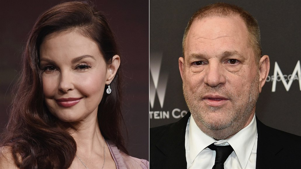 Ashley Juddová a Harvey Weinstein