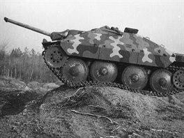 Německý stíhač tanků Hetzer, zkušební jízda
