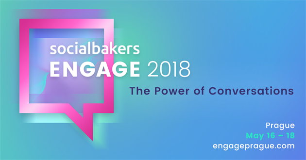 Logo akce Engage Prague 2018