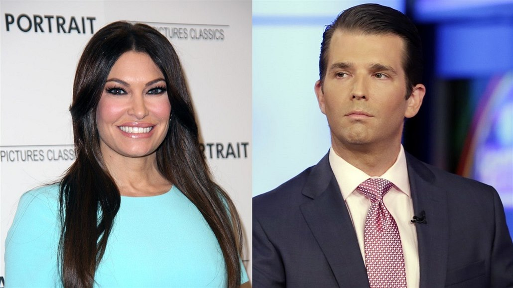 Kimberly Guilfoyleová a Donald Trump junior