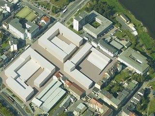 Návrh obchodního centra - struktura.