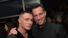 Colton Haynes a Jeff Leatham (Century City, 16. září 2017)