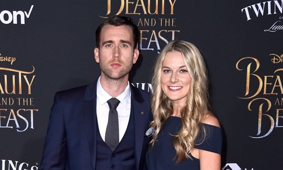 Matthew Lewis a Angela Jonesová (Los Angeles, 2. března 2017)