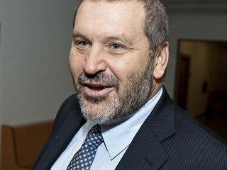 Alexandr Novák u Krajského soudu v Ústí nad Labem (červenec 2012)